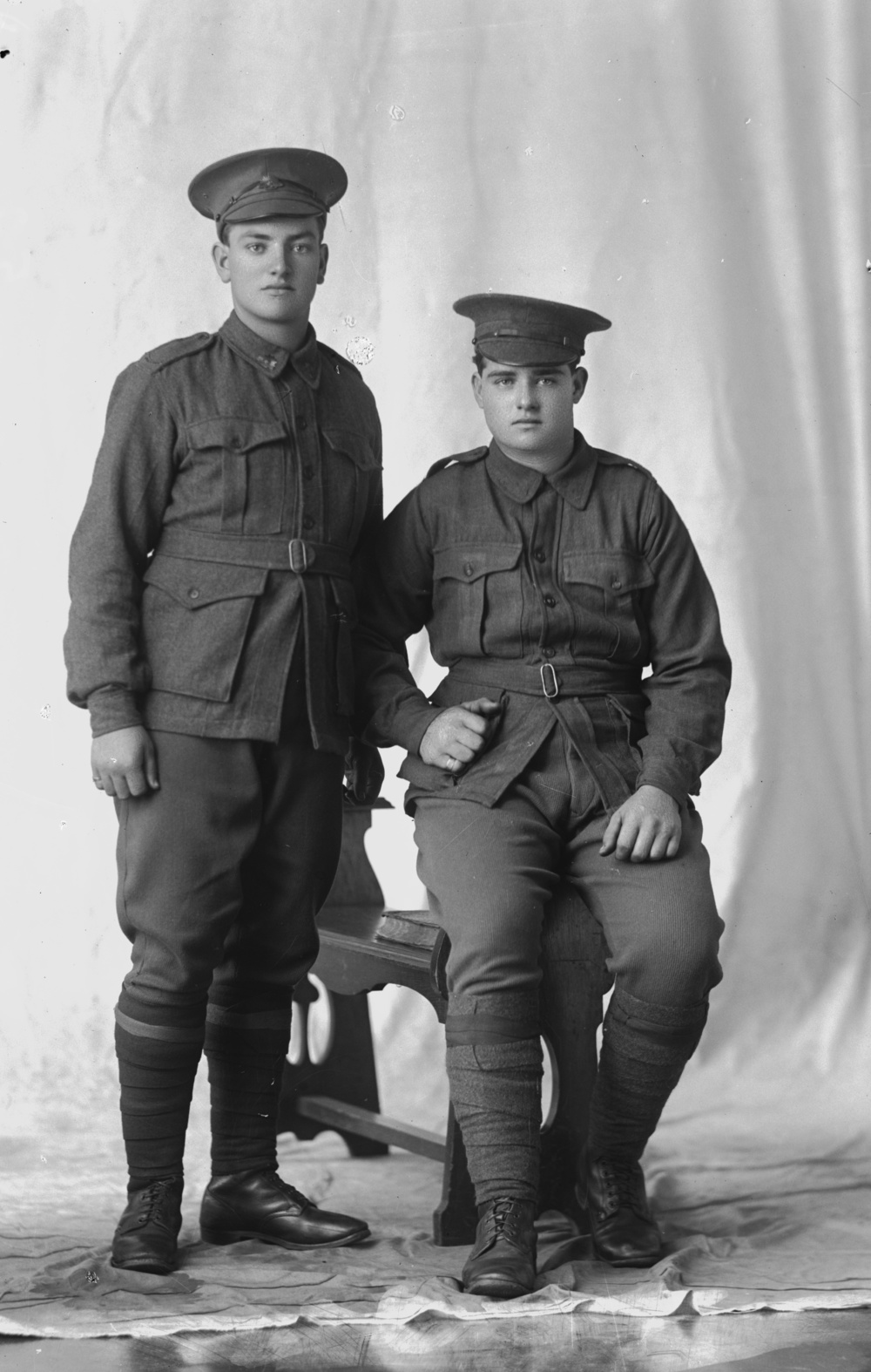 Photographed at the Dease Studio, 117 Barrack Street Perth WA Image courtesy of the State Library of Western Australia: 108522PD