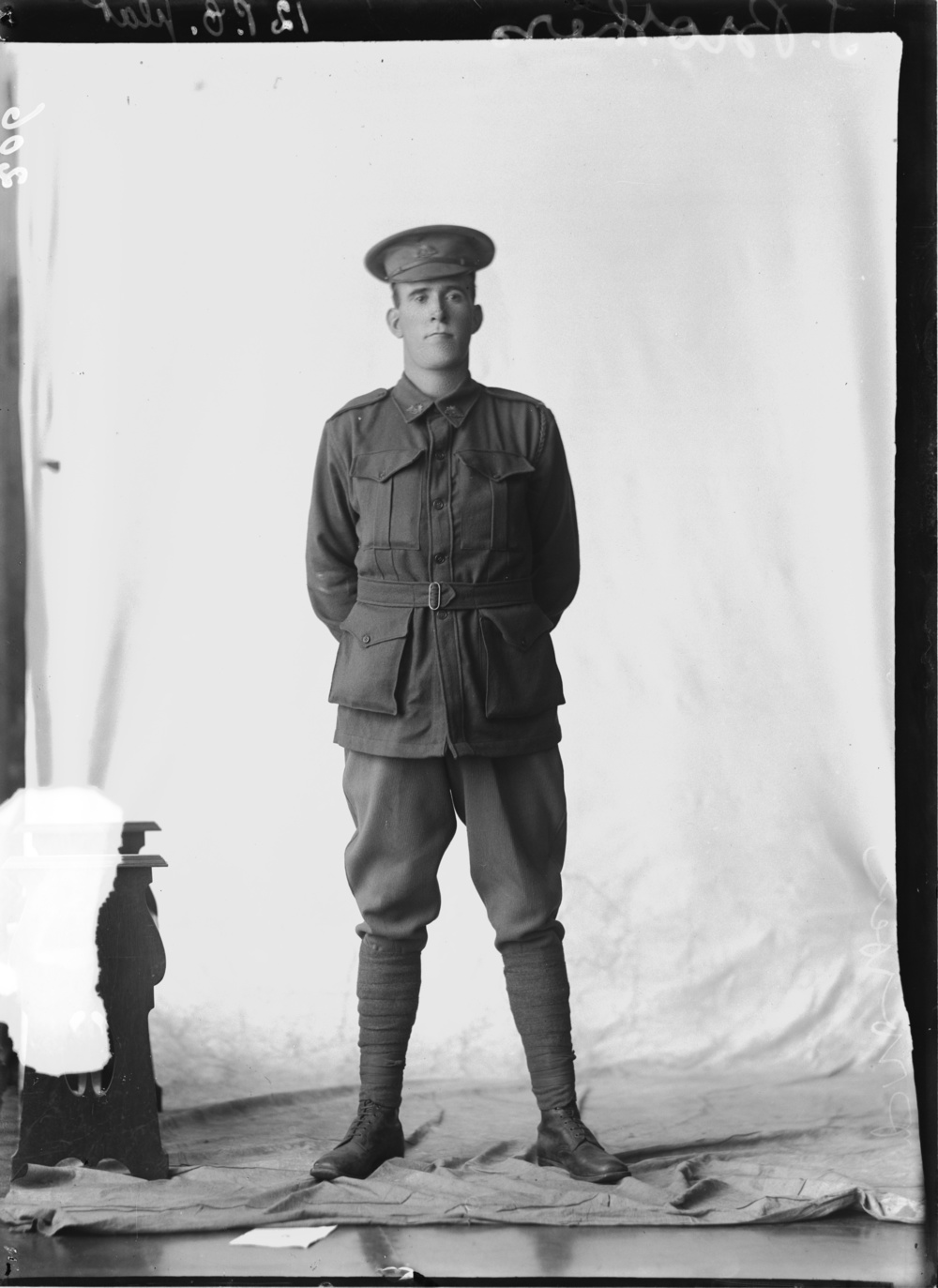Photographed at the Dease Studio, 117 Barrack Street Perth WA Image courtesy of the State Library of Western Australia: 108242