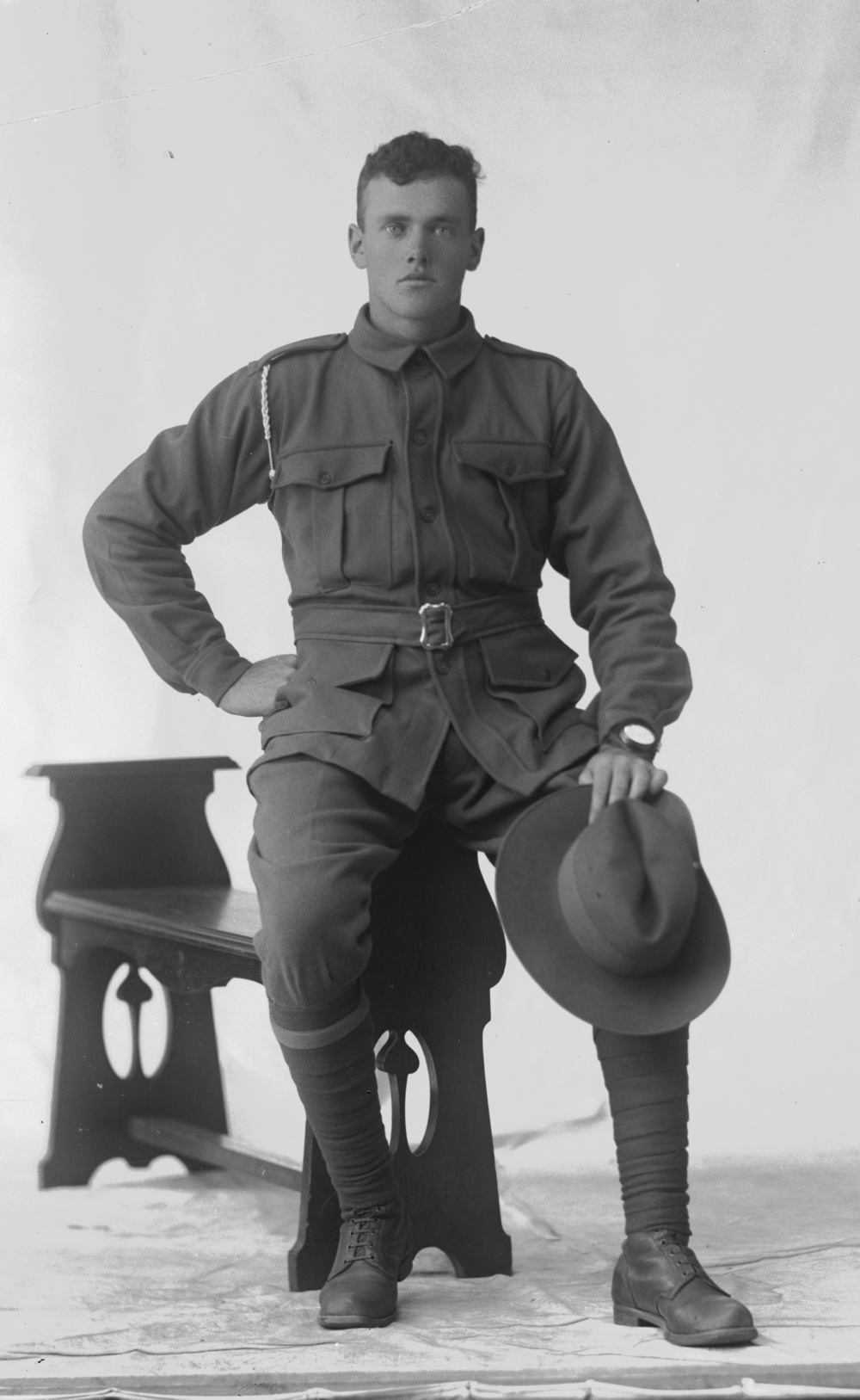 Photographed at the Dease Studio, 117 Barrack Street Perth WA Image courtesy of the State Library of Western Australia:  108069PD