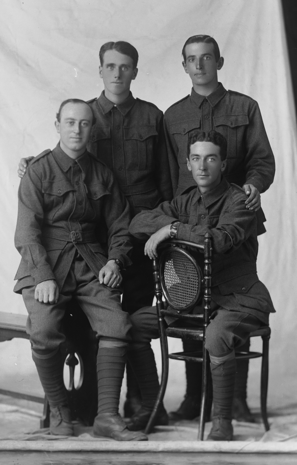 Photographed at the Dease Studio, 117 Barrack Street Perth WA Image courtesy of the State Library of Western Australia:   108482PD