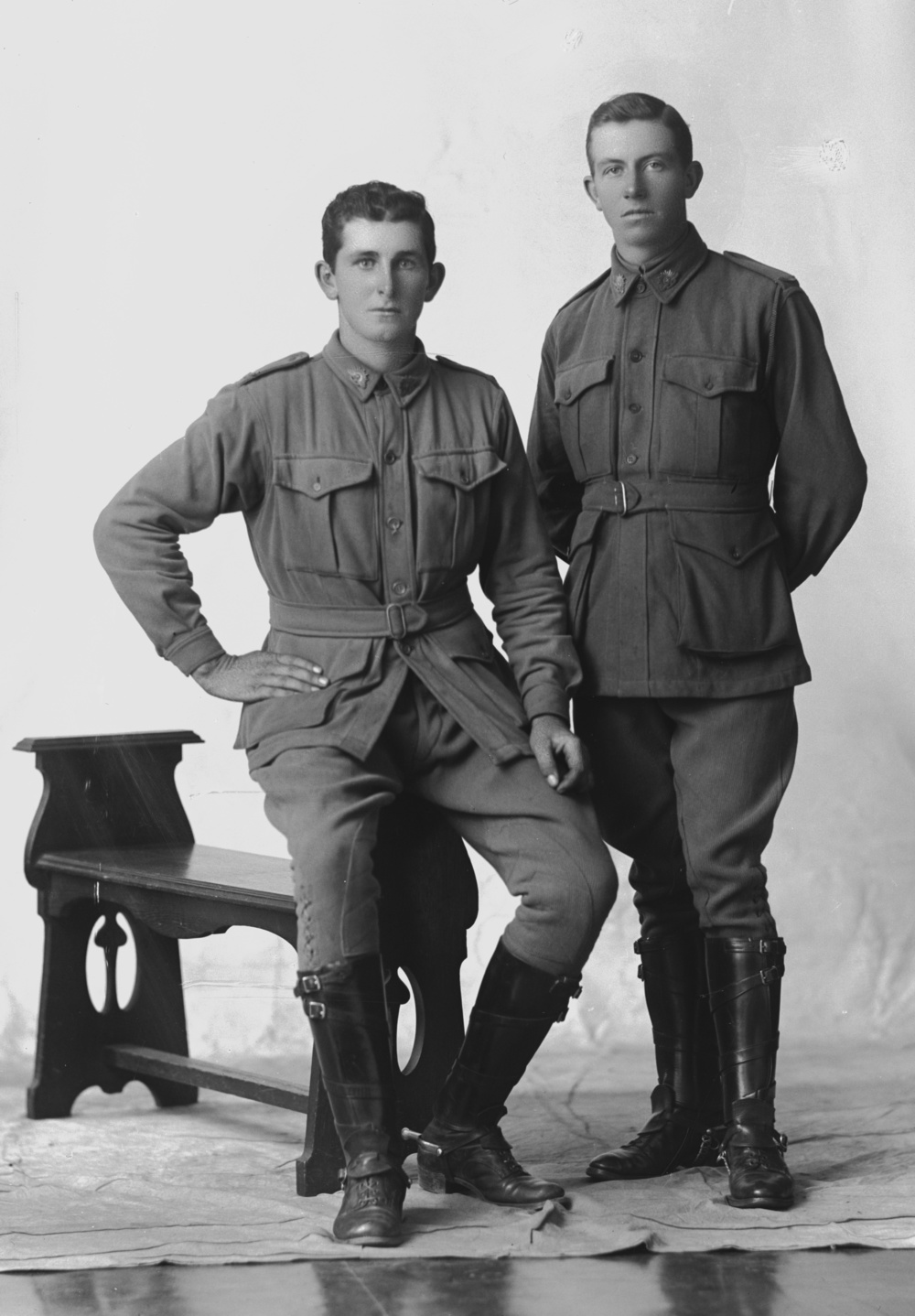 Photographed at the Dease Studio, 117 Barrack Street Perth WA Image courtesy of the State Library of Western Australia: 108243PD