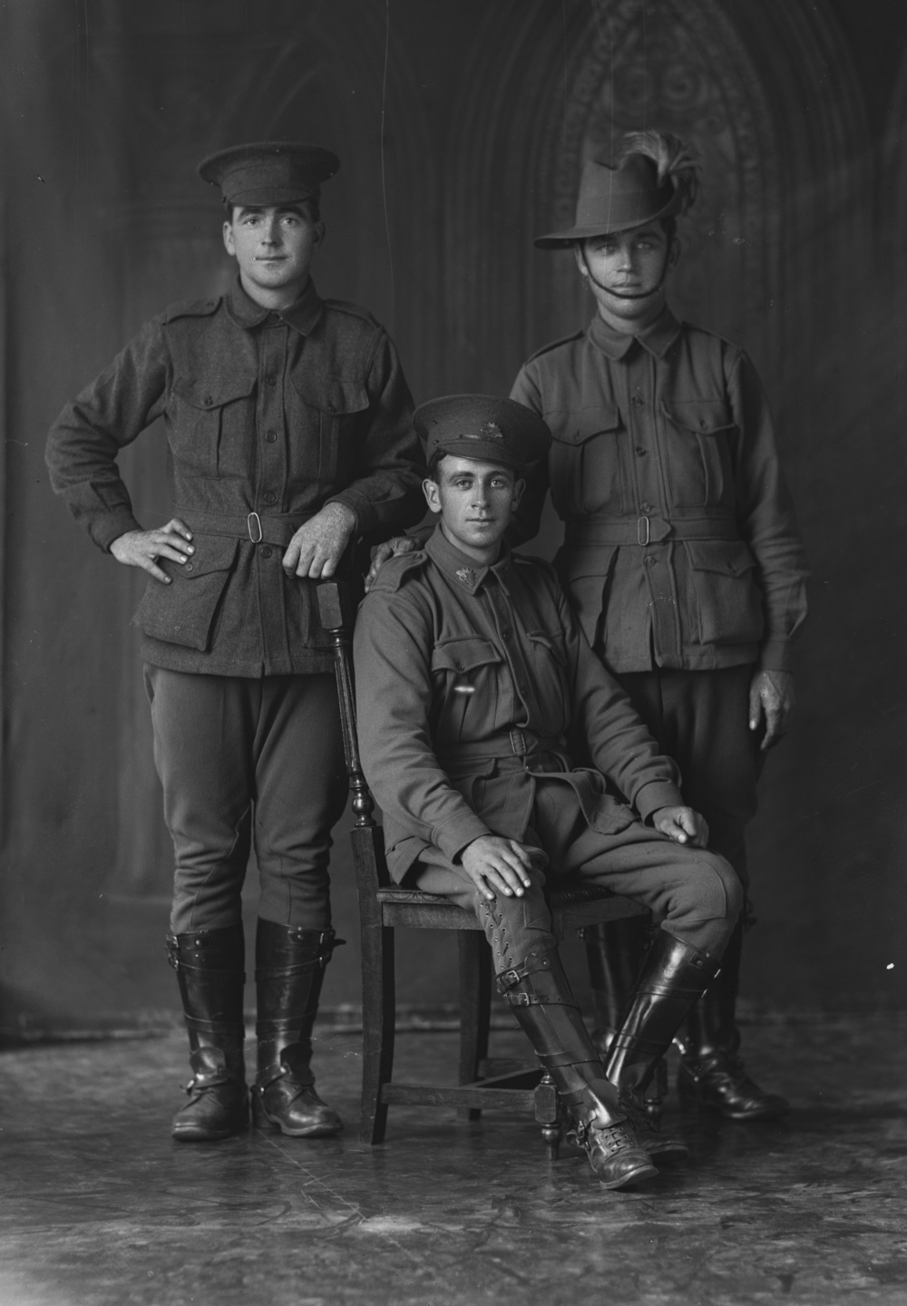 Photographed at the Dease Studio, 117 Barrack Street Perth WA Image courtesy of the State Library of Western Australia: 108231PD