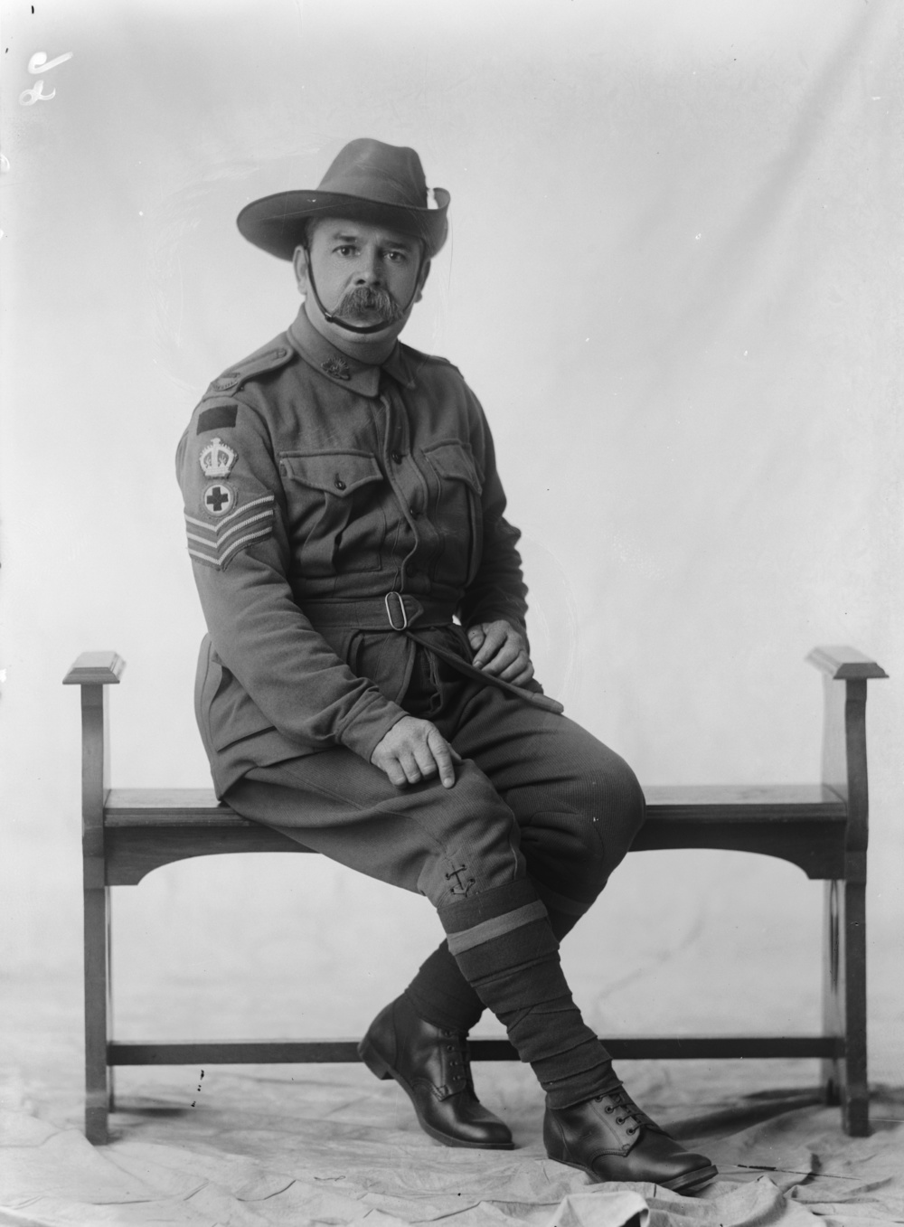 Photographed at the Dease Studio, 117 Barrack Street Perth WA Image courtesy of the State Library of Western Australia: 108145PD