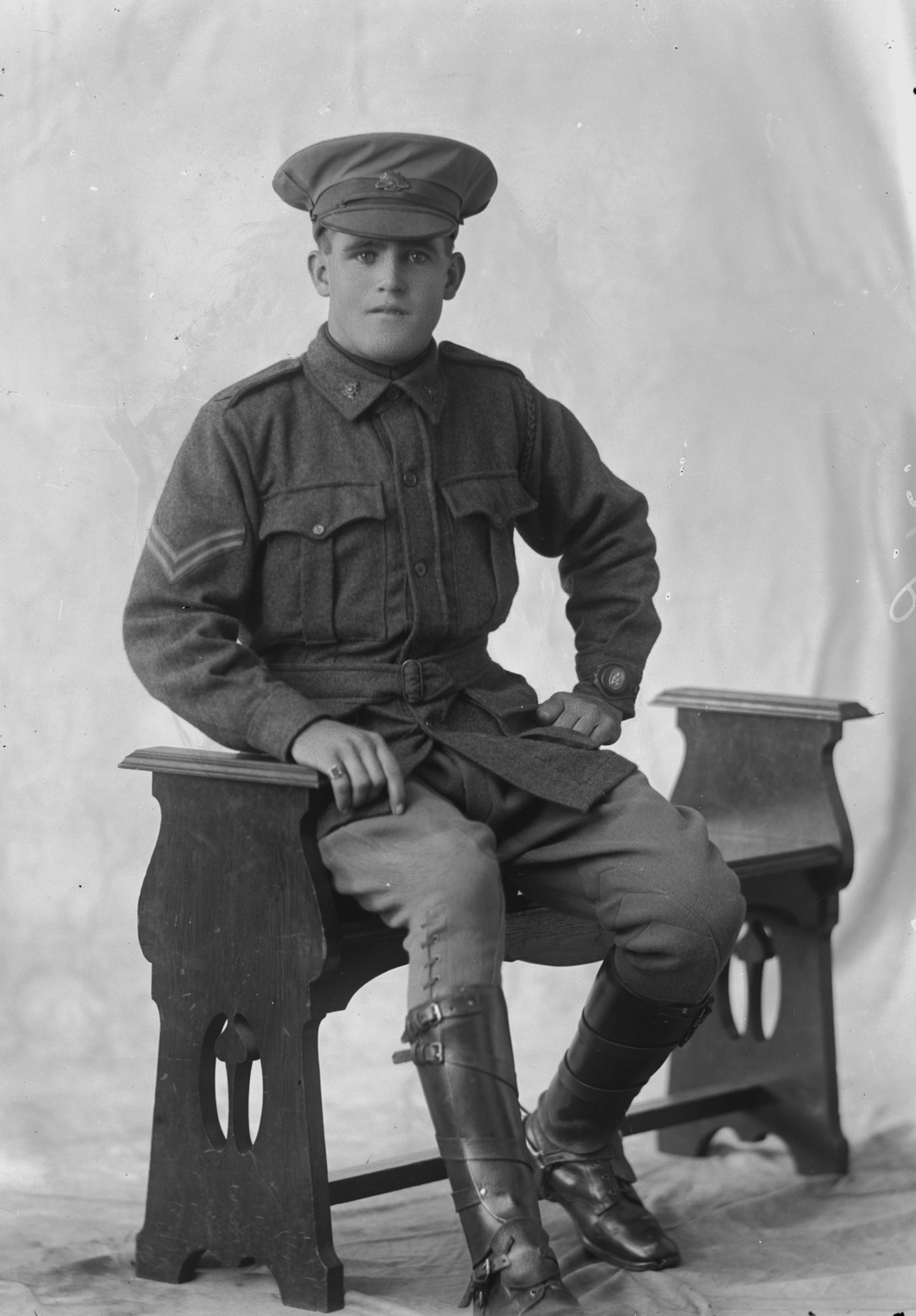 Photographed at the Dease Studio, 117 Barrack Street Perth WA Image courtesy of the State Library of Western Australia: 108224PD