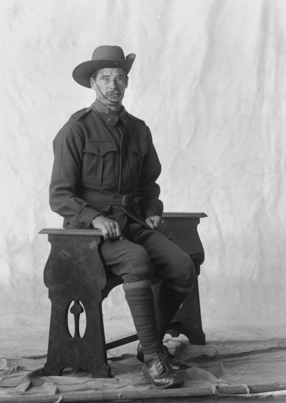 Photographed at the Dease Studio, 117 Barrack Street Perth WA Image courtesy of the State Library of Western Australia: 108689PD