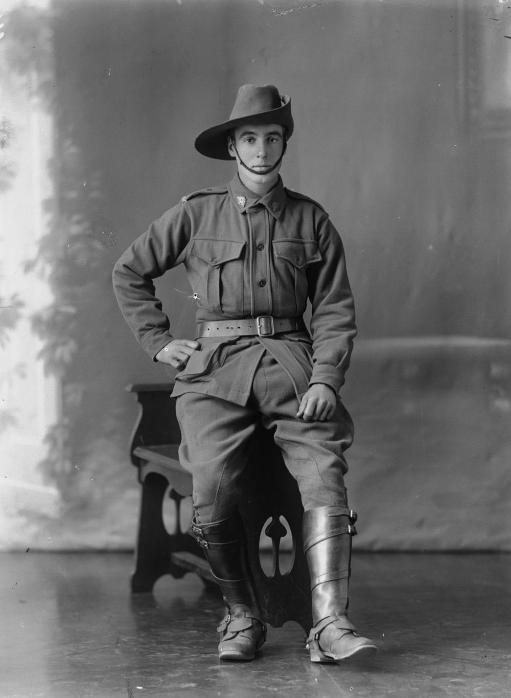 Photographed at the Dease Studio, 117 Barrack Street Perth WA Image courtesy of the State Library of Western Australia: 108115PD