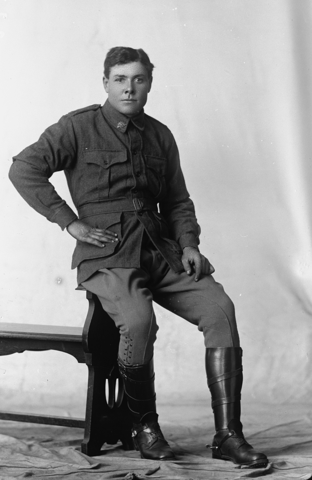Photographed at the Dease Studio, 117 Barrack Street Perth WA Image courtesy of the State Library of Western Australia: 108590PD