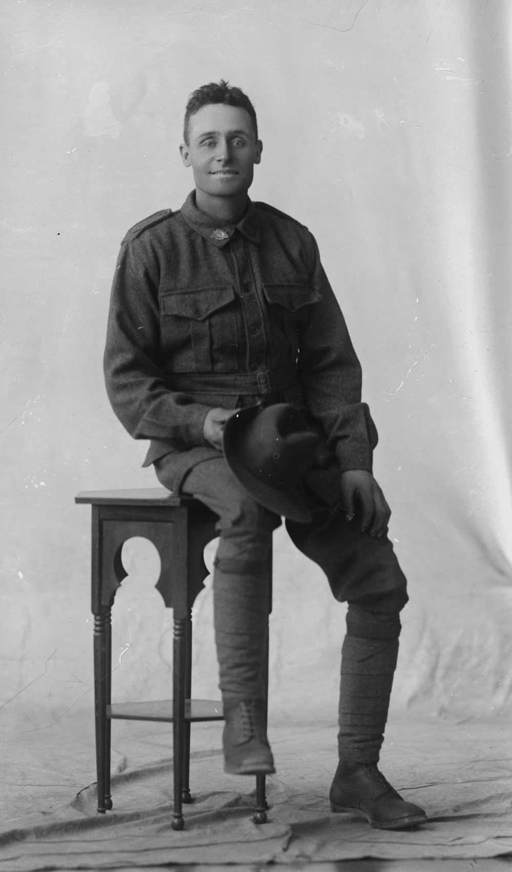 Photographed at the Dease Studio, 117 Barrack Street Perth WA Image courtesy of the State Library of Western Australia: 108266PD