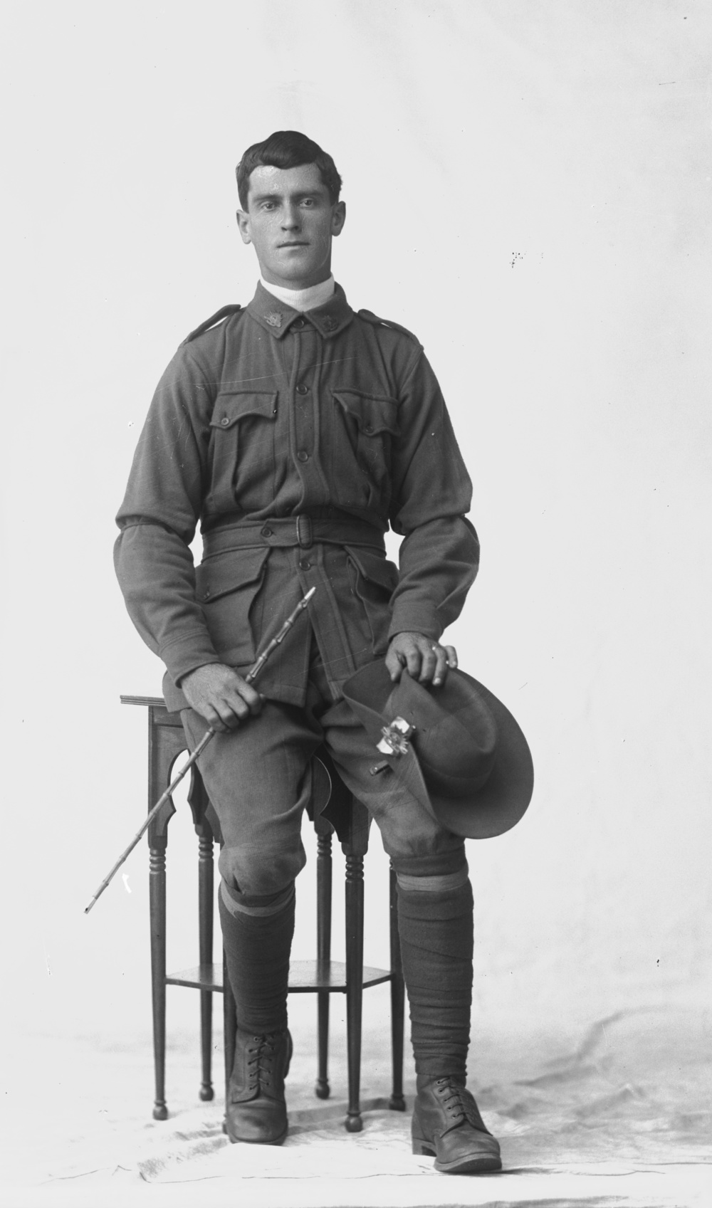 Photographed at the Dease Studio, 117 Barrack Street Perth WA Image courtesy of the State Library of Western Australia: 108301PD