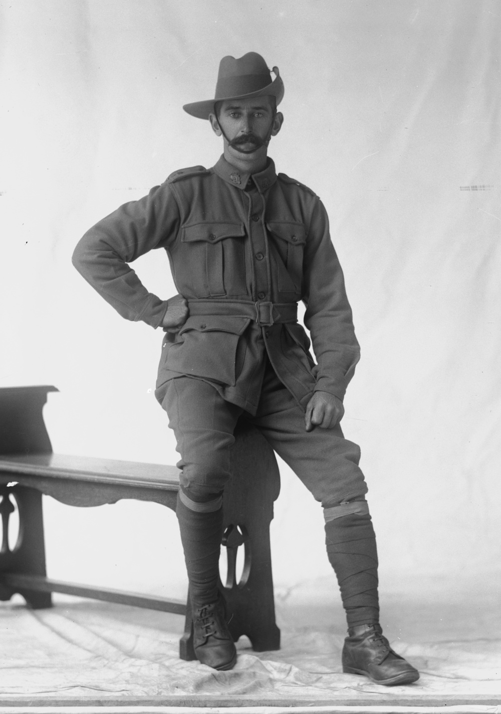 Photographed at the Dease Studio, 117 Barrack Street Perth WA Image courtesy of the State Library of Western Australia: 108302PD