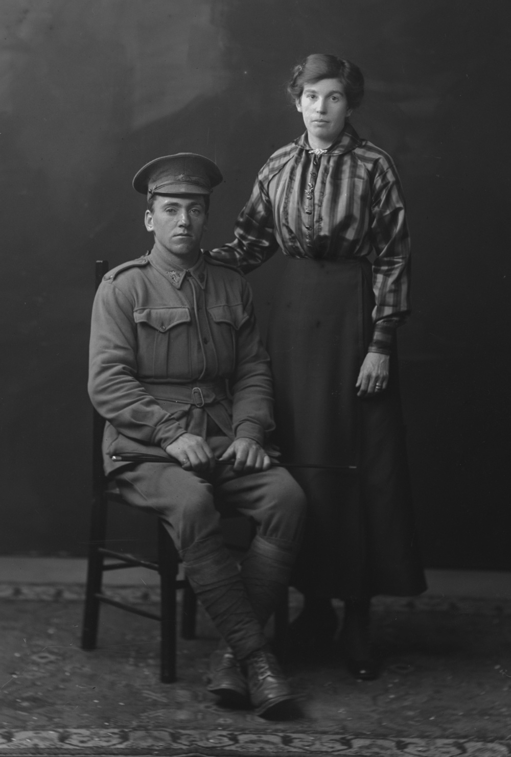 Photographed at the Dease Studio, 117 Barrack Street Perth WA Image courtesy of the State Library of Western Australia: 108700PD