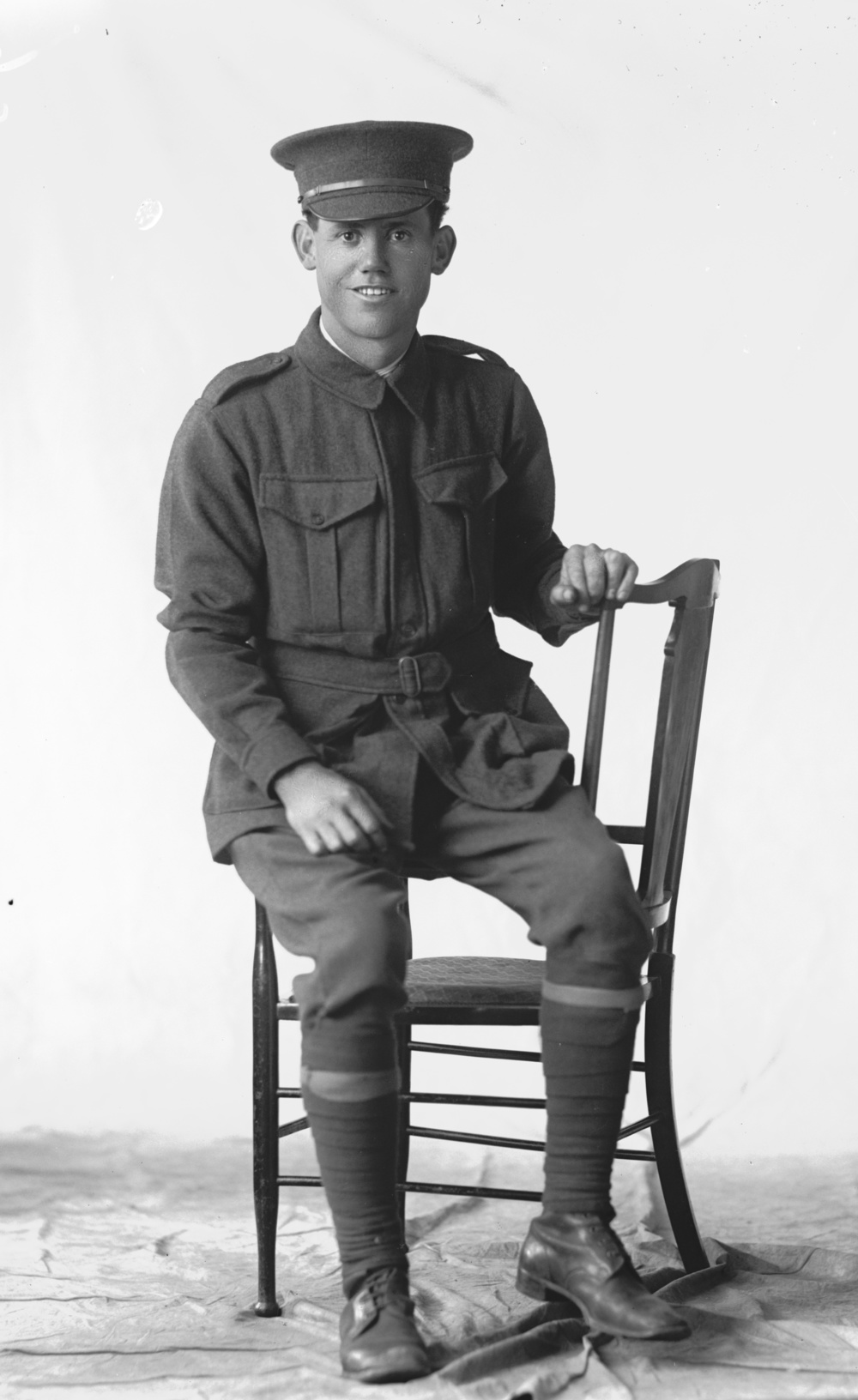 Photographed at the Dease Studio, 117 Barrack Street Perth WA Image courtesy of the State Library of Western Australia: 108139PD