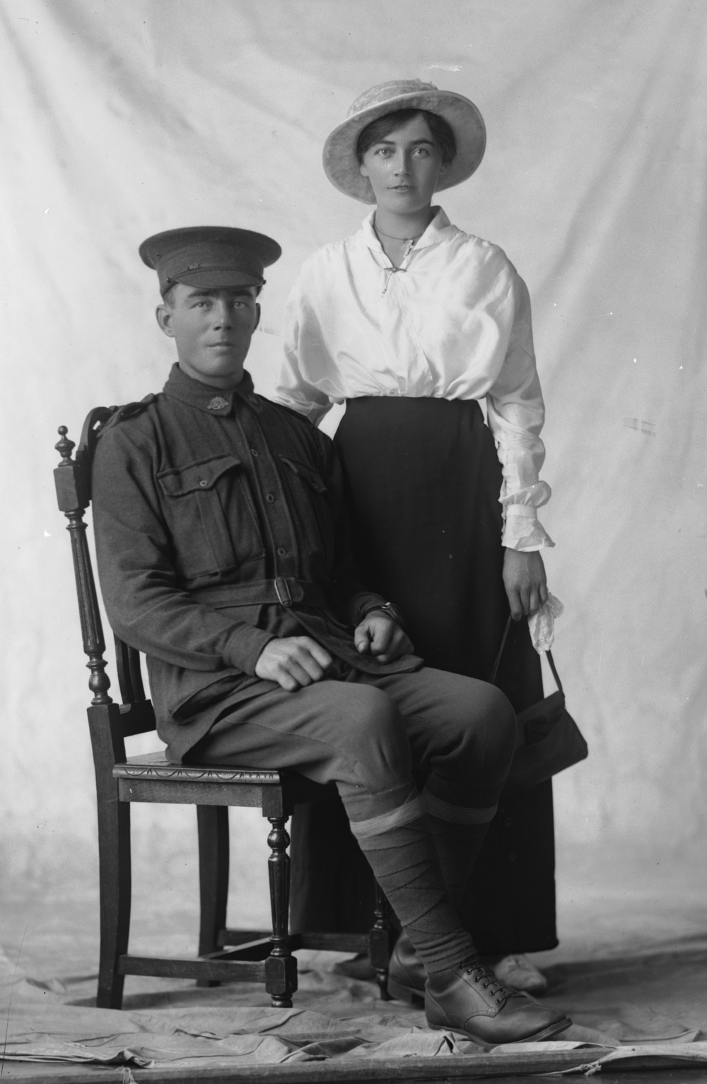 Photographed at the Dease Studio, 117 Barrack Street Perth WA Image courtesy of the State Library of Western Australia:  108661PD