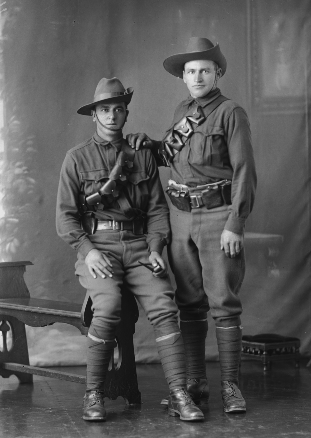 Photographed at the Dease Studio, 117 Barrack Street Perth WA Image courtesy of the State Library of Western Australia: 108114PD