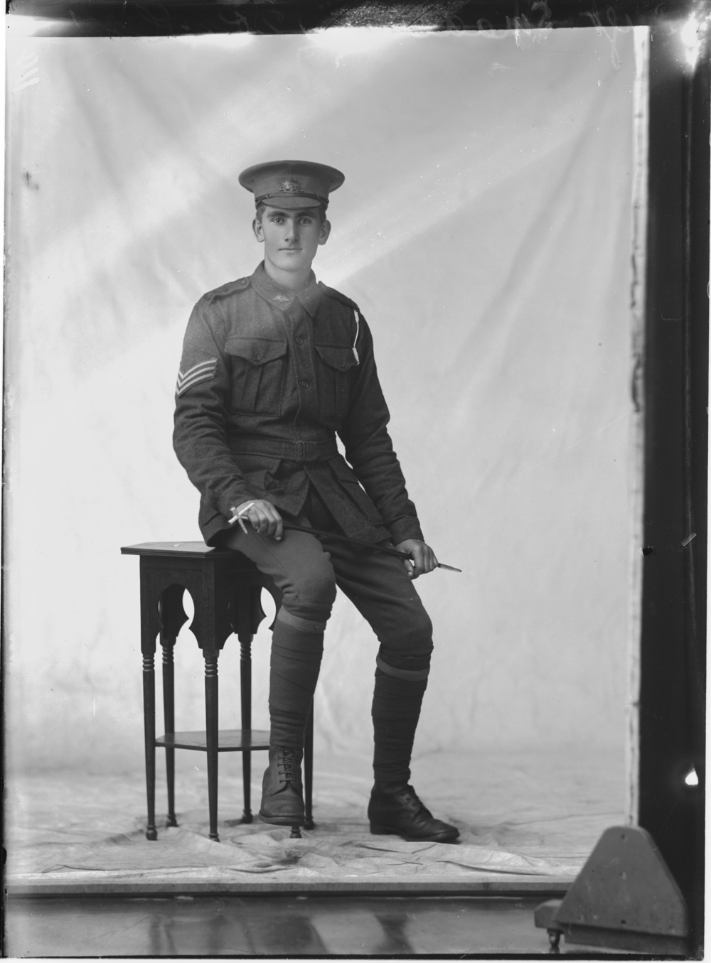 Photographed at the Dease Studio, 117 Barrack Street Perth WA Image courtesy of the State Library of Western Australia: 108117PD