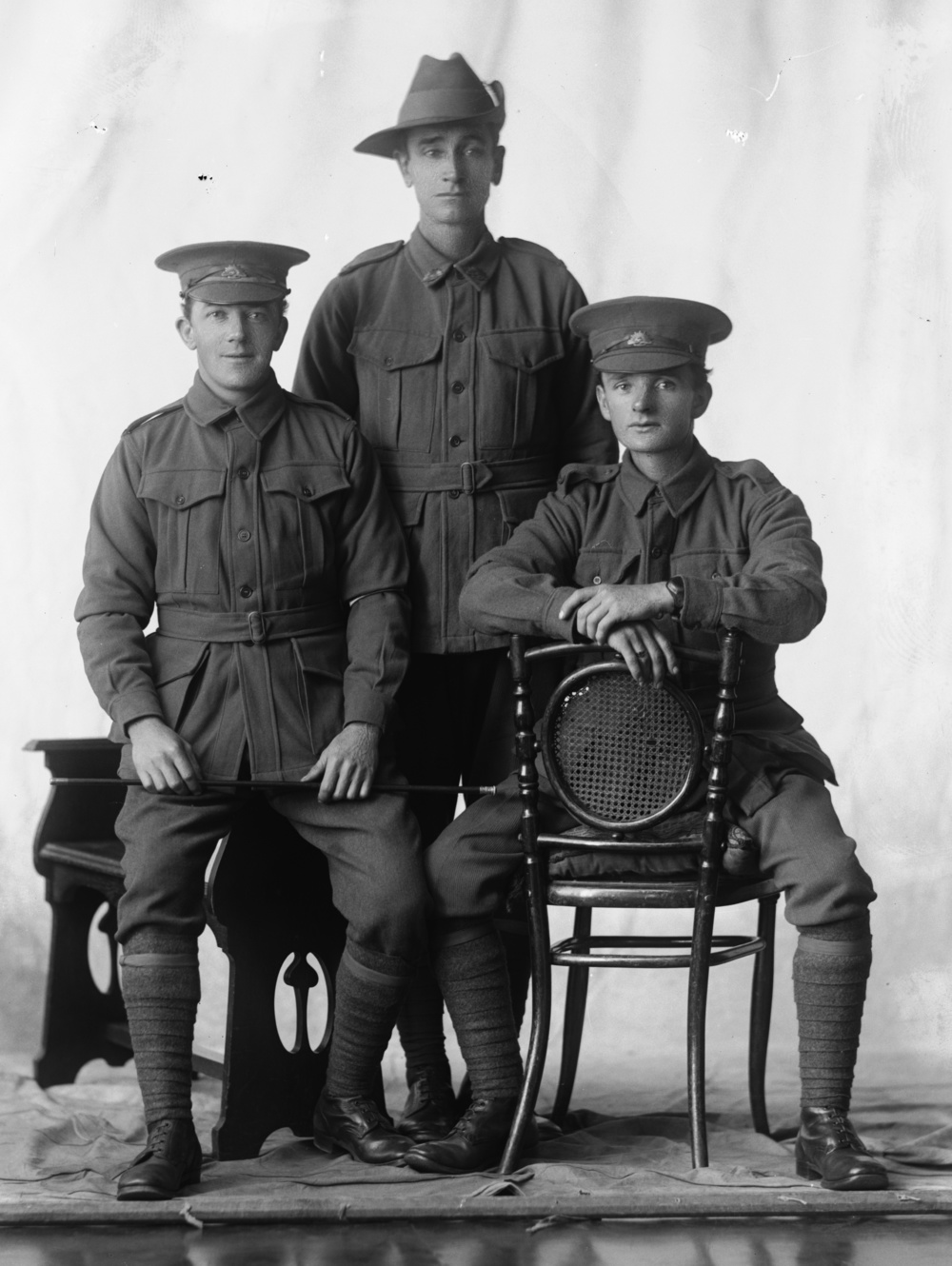 Photographed at the Dease Studio, 117 Barrack Street Perth WA Image courtesy of the State Library of Western Australia: 108471PD