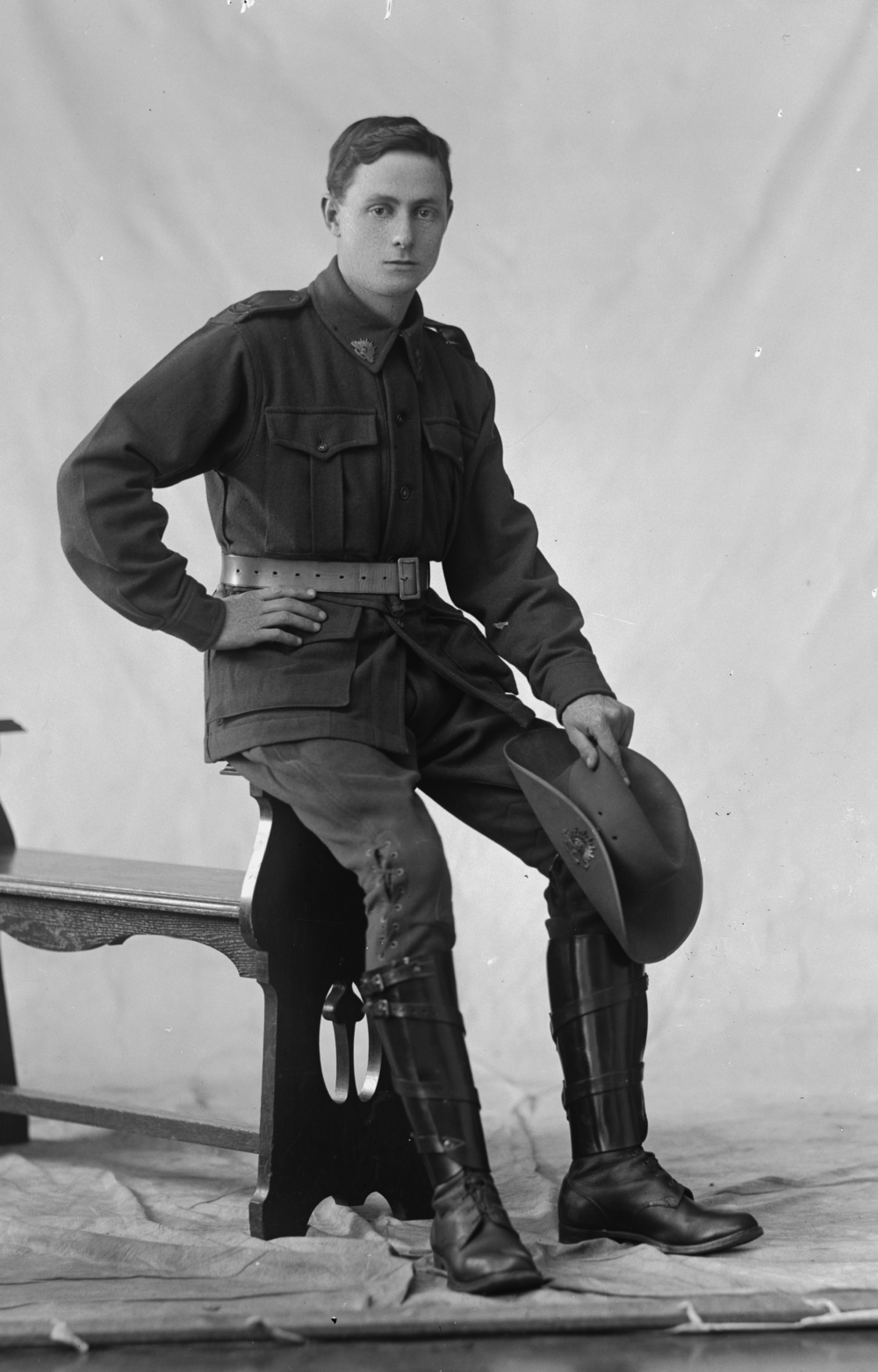 Photographed at the Dease Studio, 117 Barrack Street Perth WA Image courtesy of the State Library of Western Australia:108595PD