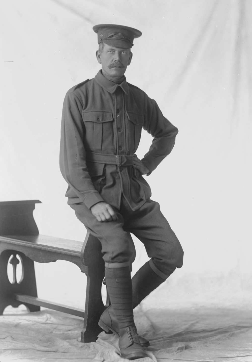 Photographed at the Dease Studio, 117 Barrack Street Perth WA Image courtesy of the State Library of Western Australia:  108135PD