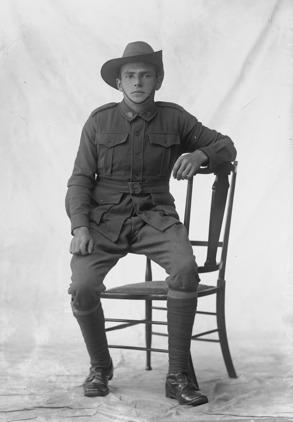 Photographed at the Dease Studio, 117 Barrack Street Perth WA Image courtesy of the State Library of Western Australia: 108309PD