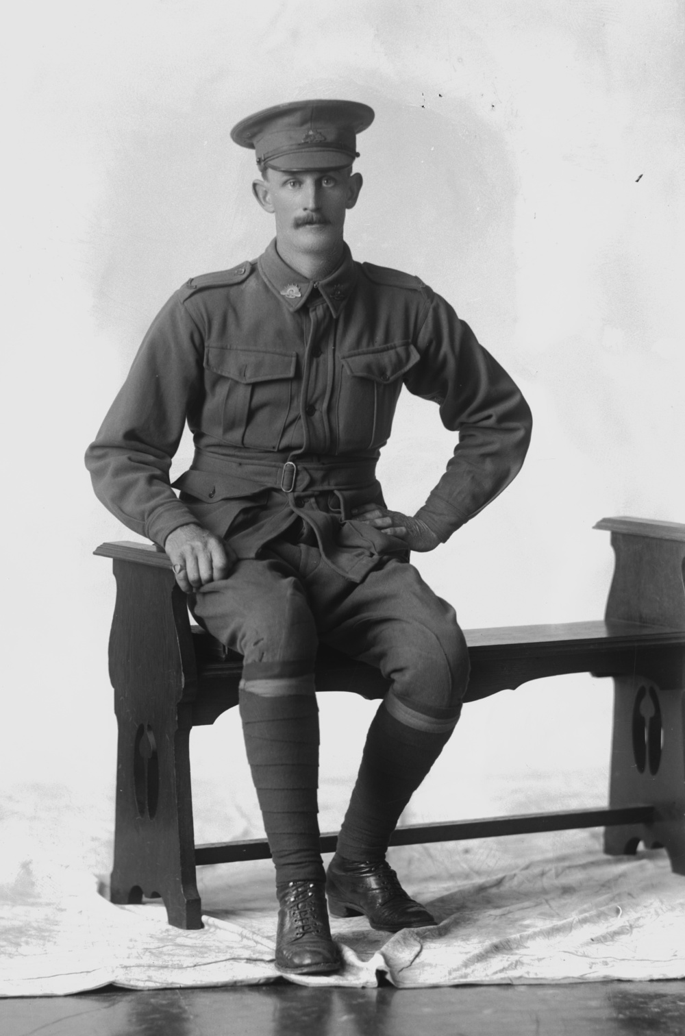Photographed at the Dease Studio, 117 Barrack Street Perth WA Image courtesy of the State Library of Western Australia: 108434D