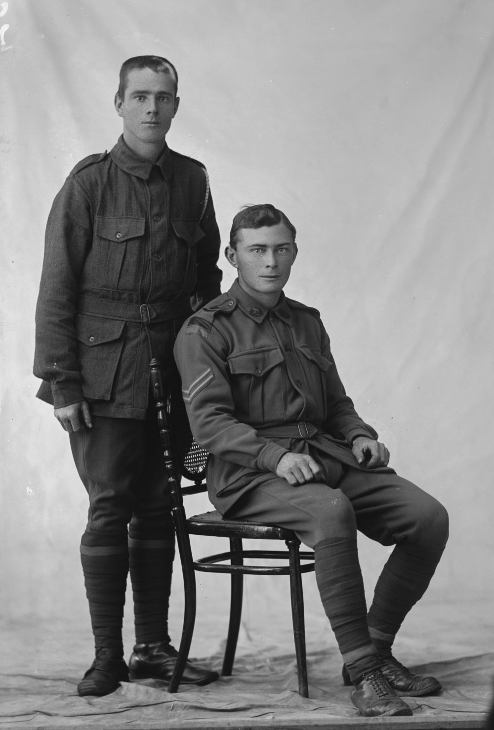 Photographed at the Dease Studio, 117 Barrack Street Perth WA   Image courtesy of the State Library of Western Australia:  108075PD