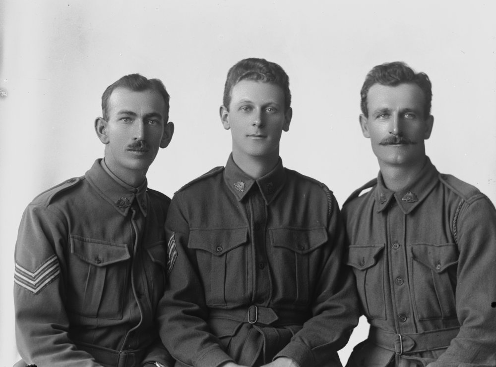 Photographed at the Dease Studio, 117 Barrack Street Perth WA Image courtesy of the State Library of Western Australia: 108373PD