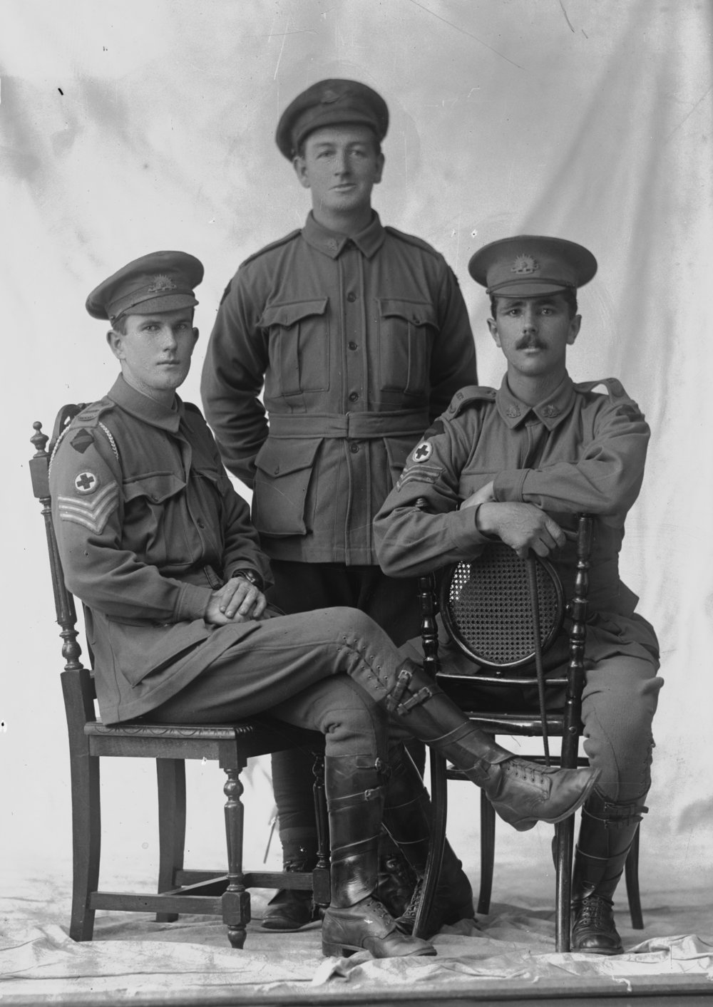 Photographed at the Dease Studio, 117 Barrack Street Perth WA   Image courtesy of the State Library of Western Australia:   108260PD