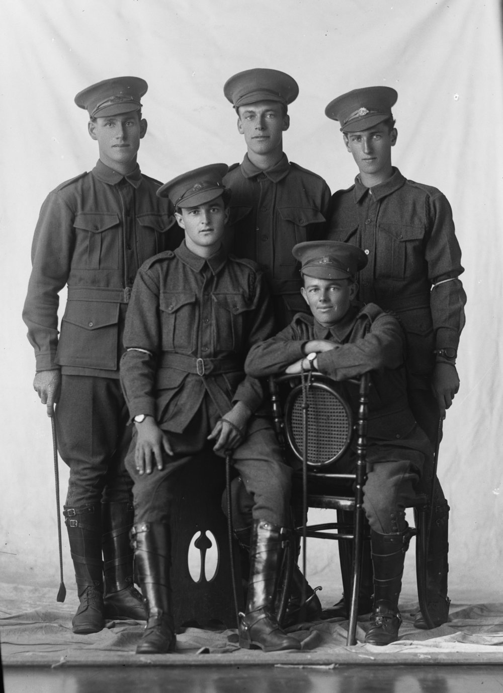 Photographed at the Dease Studio, 117 Barrack Street Perth WA    Image courtesy of the State Library of Western Australia: 108344PD