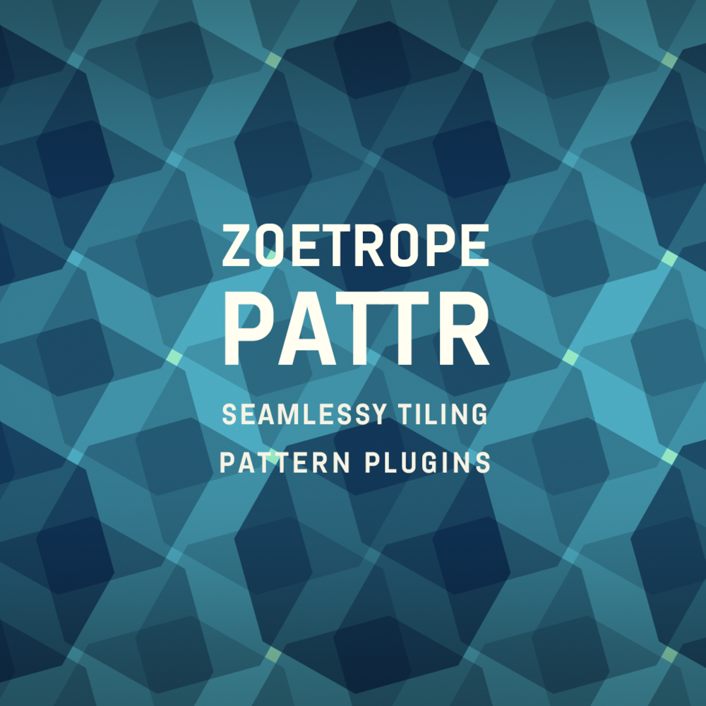 PATTR - Excited to announce the release of PATTR! Seamlessly Tiling Pattern plugins, Now available for free download!