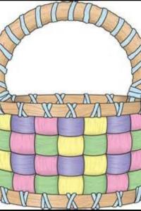 Easter basket full of pastels!