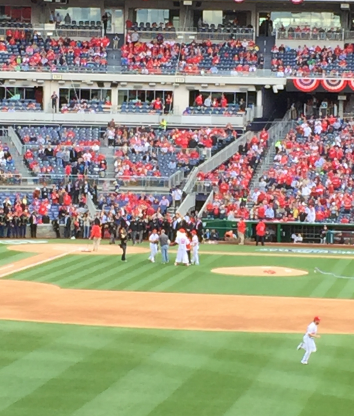 Opening Day 2016, Nationals Baseball!