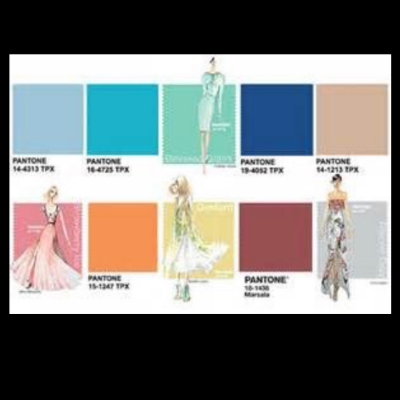 Pantone used in fashion color
