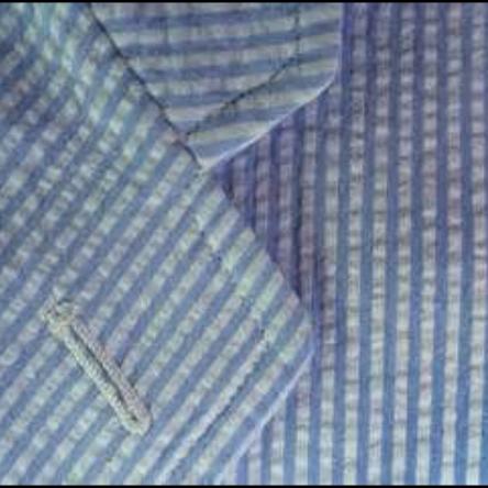 Close-up seersucker pattern