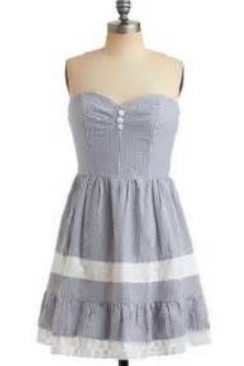 Adorable seersucker dress