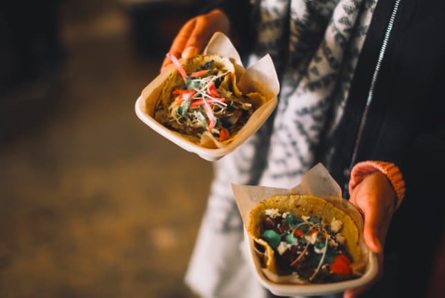 vegan and vegetarian seasonal tacos for all at Chaia