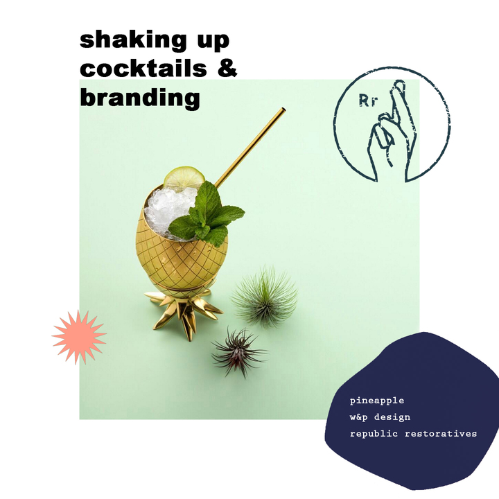 shaking up cocktails & branding