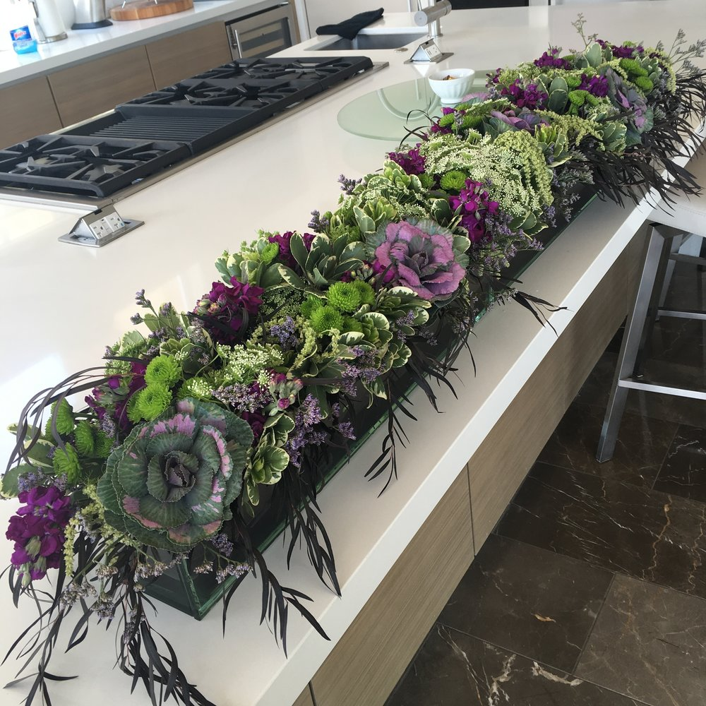 Extra Long Table Centerpiece
