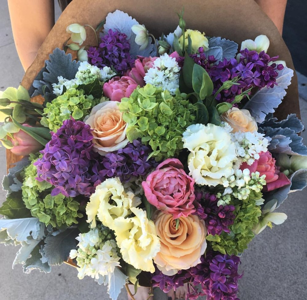 Mixed Wrapped Arrangement