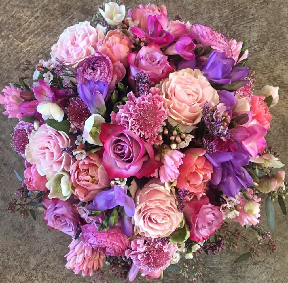 45. Pinks and Purples