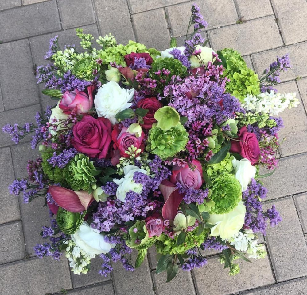 50. Whimsical Purples and Greens