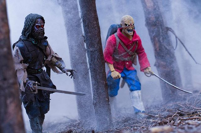 First there was darkness. Then came the strangers. . .  #toydiscovery #toyphotography #thetrooper #ironmaiden #neca #thefog #toptoyphotos #toyartistry #toythug #darkart #thewalkingdead #conceptart #empireoffuture #michaelbaythatshit #renderzone #toptoyphotos #epictoyart  #horror #nightmare #horrorart