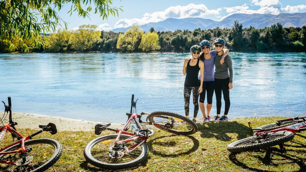 Biking along Clutha River Wanaka 2.jpg
