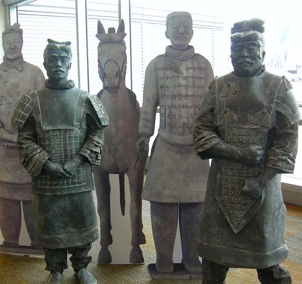 United Airlines Maiden flight to Xi'an, Living Terracotta Warriors