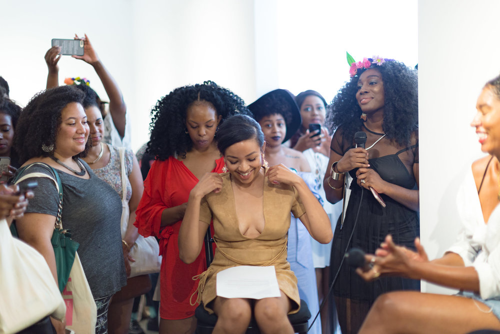 "ESSENCE - ""In an age when it can feel like our sole obligation is to fight, call-out, and denounce unrelenting injustices, we can be left feeling drained, hopeless and joyless. Begging the question how and where do Black women find joy in 2017? Project Beauty Expo is one answer."""