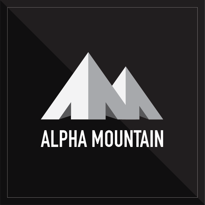 Alpha Mountain Logo/Branding