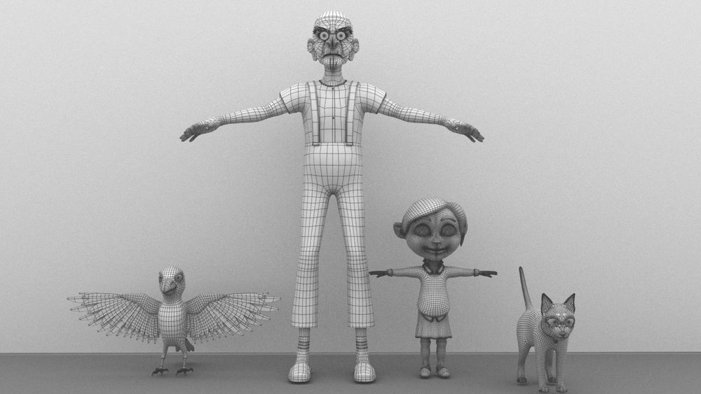 3D character m
