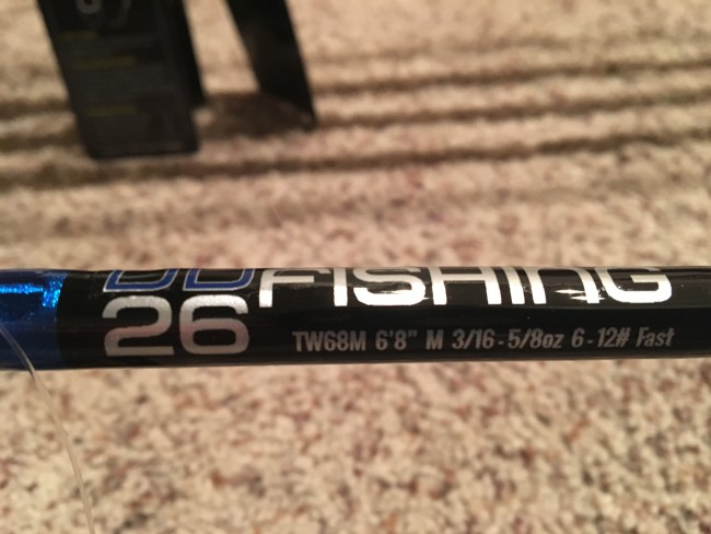 The TW68M is an amazing jerk bait rod from the deeper Stacy 90 type baits to the smaller version pointers, this rod does it all. One of our favorites to keep rigged and on the deck.