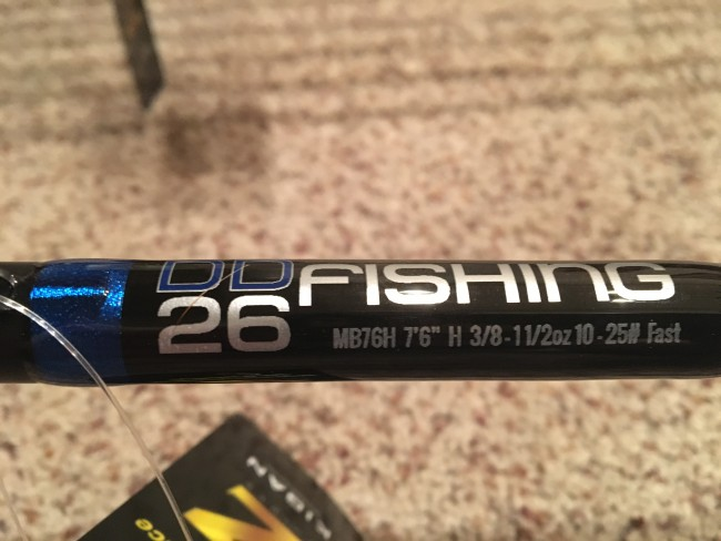 """MB711XH 7'11"""" Long XHeavy Fast Jig, Flip, Swim, you name it! A well rounded rod for when a little more back bone is needed. But still coming in at an over all weight of around 4oz!!!"""