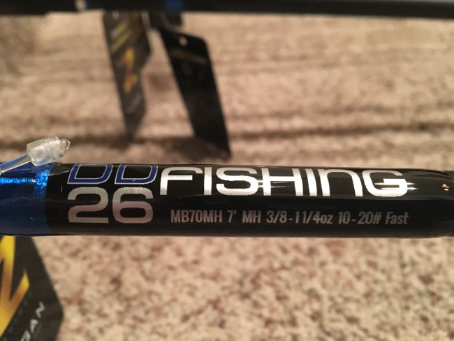 MB70MH 7' Long Medium Heavy Casting   made from a   mid-modulus C2 carbon material. This is a great well rounded rod.