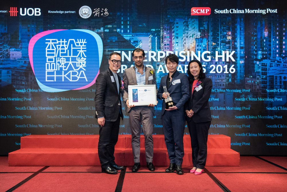Winner and finalist of Best HK Property Brand